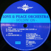 (SZ0009) Love & Peace Orchestra ‎– Holdin' On