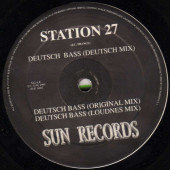 (CM1372) Station 27 ‎– Deutsch Bass