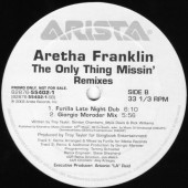 (CMD176) Aretha Franklin – The Only Thing Missin (2x12)
