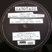(27645) Sabotage ‎– My House