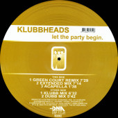 (CUB0960) Klubbheads ‎– Let The Party Begin