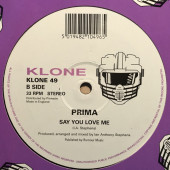 (V0225) Prima – New Year's Day / Say You Love Me