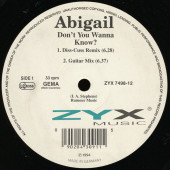 (CUB2615) Abigail ‎– Don't You Wanna Know?